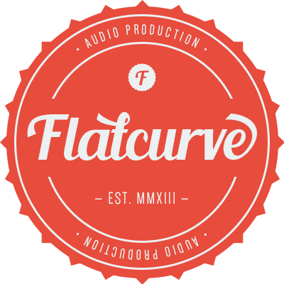 FLATCURVE — AUDIO PRODUCTION — Recording, mixing and mastering made in FRANCE